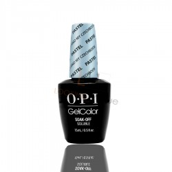 OPI GEL COLOR - Can't Find My Czechbook (The Pastel)