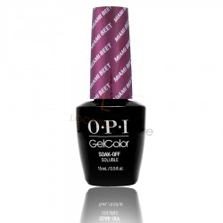 OPI GEL COLOR - Miami Beet (The Beautifuls Collection)
