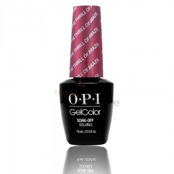 OPI GEL COLOR - The Thrill of Brazil (THE FEMME FATALES)