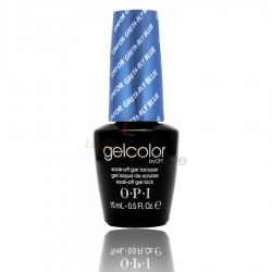 OPI GEL COLOR - Unforgretably Blue (Divas Collection)