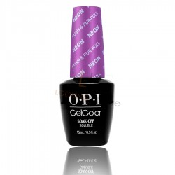OPI GEL COLOR - Push & Pur - Pull NEON