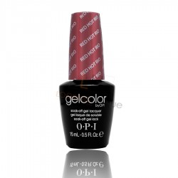 OPI GEL COLOR - Red Hot Rio 15ml