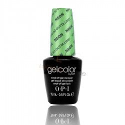 OPI GEL COLOR - You Are So Outta Lime NEON 15ml