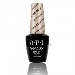 OPI GEL COLOR - You're So Vain-Illa (Coca-Cola Collection) 15ml