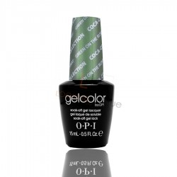 OPI GEL COLOR - Green On The Runway 15ml