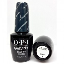 OPI GEL COLOR - CIA : Color Is Awesome GC W53 (Washington DC) 15ml