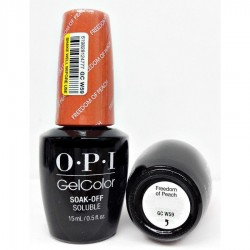 OPI GEL COLOR - Freedom of Peach GC W59 (Washington DC) 15ml