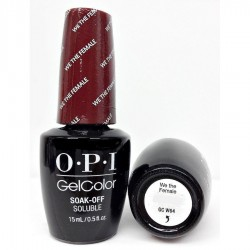OPI GEL COLOR - We the Female GC W64 (Washington DC) 15ml