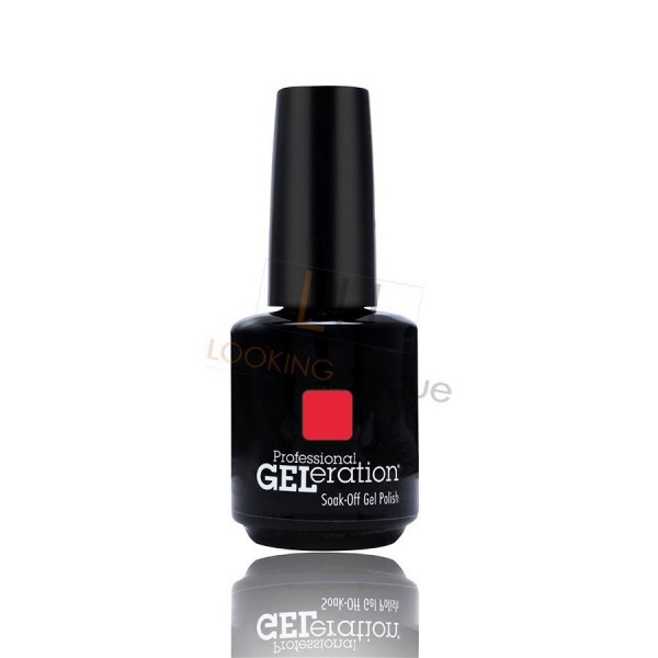 Jessica Geleration UV/LED Nail Gel Polish - Confident Coral 15ml