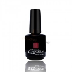 Jessica Geleration UV/LED Nail Gel Polish - Shock Me Red 15ml