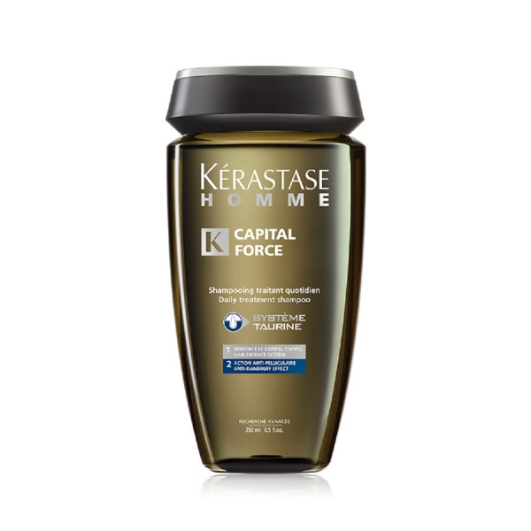 Kerastase Homme Capital Force Anti-Dandruff Shampoo 250ml