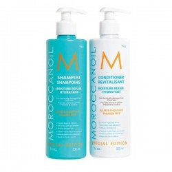 Moroccanoil Duo Moisture Repair Shampoo + Conditioner - 2 x 500ml