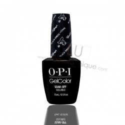 OPI GEL COLOR - Black Dress Not Optional 15ml