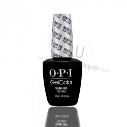 OPI GEL COLOR - MATTE TOP COAT 15ml