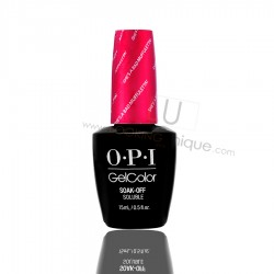 OPI GEL COLOR -  She's a bad muffuleta!  15ml