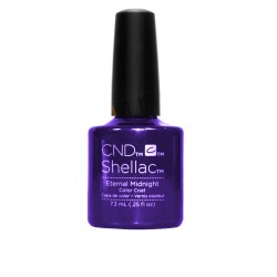 CND Shellac - Eternal Midnight - Gel Nail polish 7.3ml