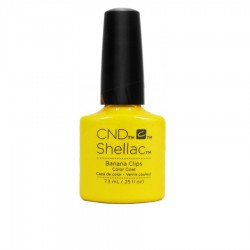 CND Shellac - Banana Clips - Gel Nail polish 7.3ml