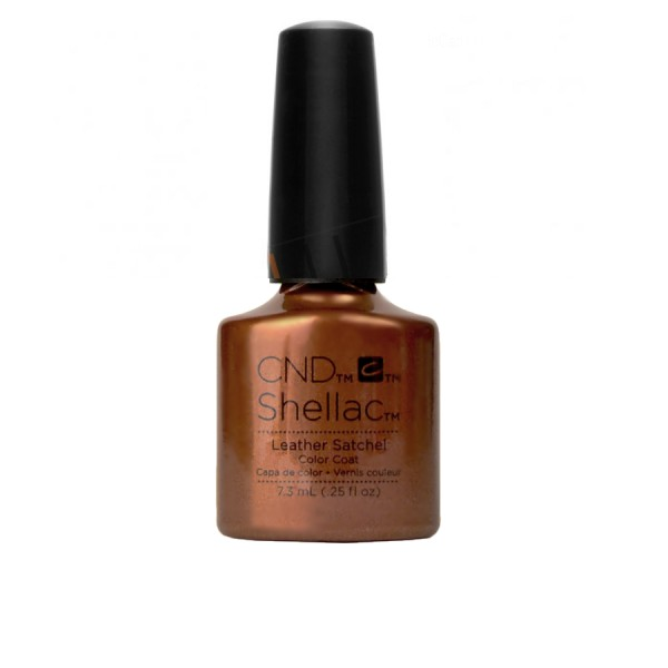 CND Shellac - Leather Satchel - Gel Nail polish 7.3ml