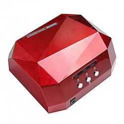 36W LED CCFL Nail Dryer Shape Curing Machine For UV Gel Lamp Nail Polish RED
